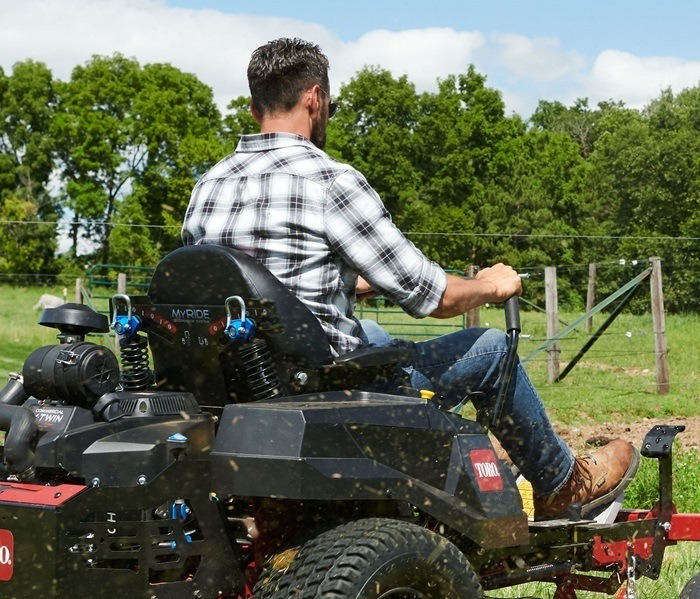 2020 Toro Titan 54 in. Toro 24.5 hp MyRIDE in Prairie Du Chien, Wisconsin - Photo 4