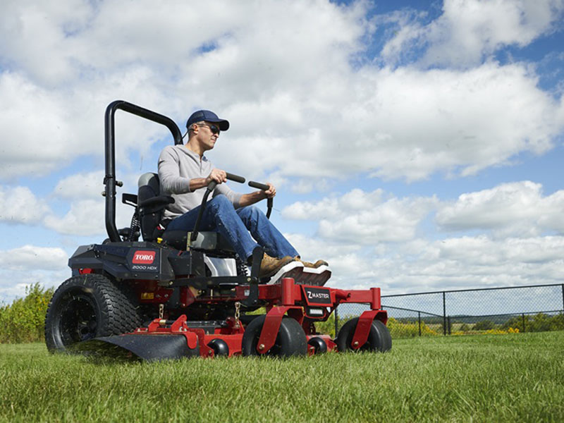 2021 Toro Z Master 2000 HDX 60 in. Toro 24.5 hp MyRIDE in Greenville, North Carolina - Photo 5