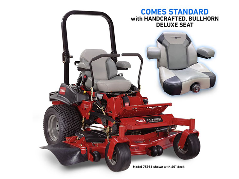 2021 Toro Z Master 5000 60 in. Kohler EFI 25 hp MyRIDE in Mansfield, Pennsylvania - Photo 2