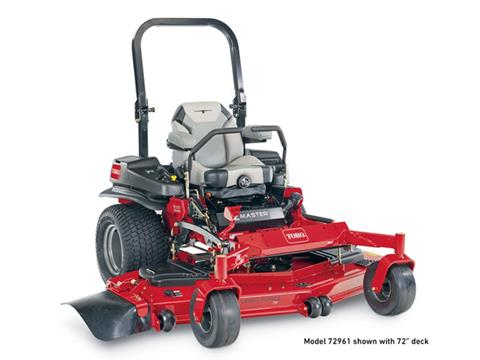 2021 Toro Z Master 6000 60 in. Kohler EFI 34 hp in Greenville, North Carolina
