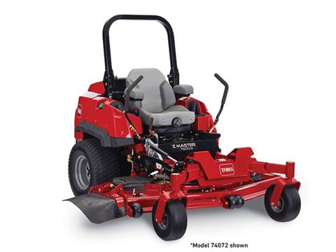 2021 Toro Z Master 7500-D 60 in. Yanmar Diesel 37 hp in New Durham, New Hampshire