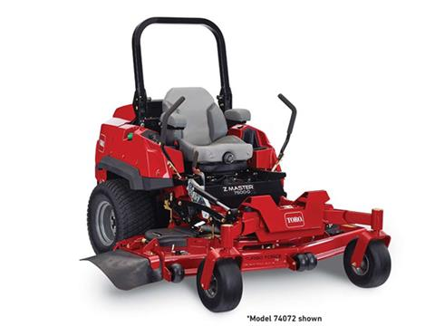 2021 Toro Z Master 7500-D 72 in. Yanmar Diesel RD 37 hp in Greenville, North Carolina