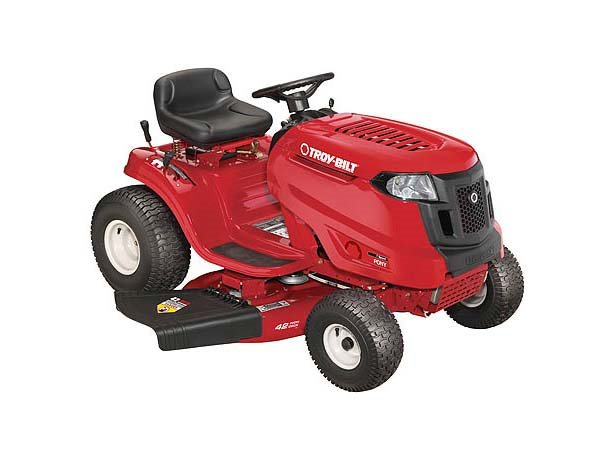 Used 2017 Troy Bilt Pony Lawn Tractor Lawn Mowers In Longview Tx