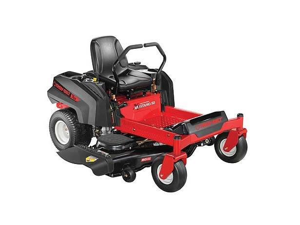 2017 TROY-Bilt Mustang 50 XP Zero-Turn Rider in Livingston, Texas