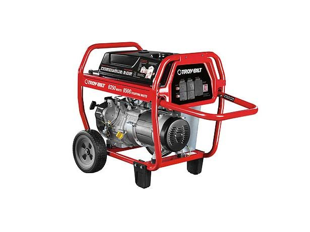 2017 TROY-Bilt 6250 Watt Portable Generator (#030594) in Livingston, Texas