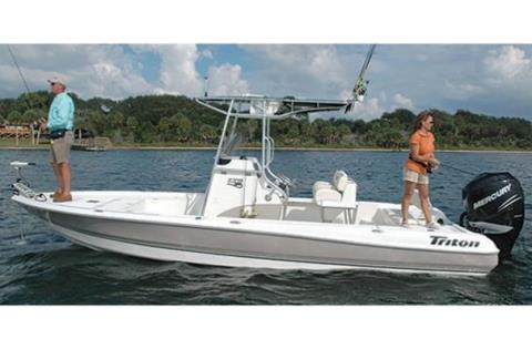 2012 Triton 240 LTS Pro in Eastland, Texas