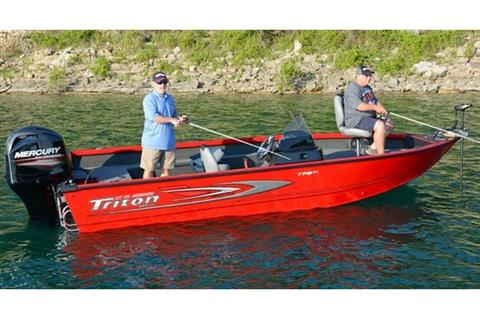 2017 Triton 178 DV in Harriman, Tennessee