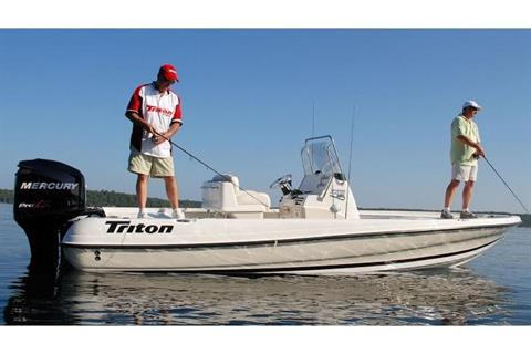 2017 Triton 220 LTS Pro in Harriman, Tennessee