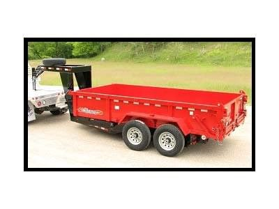 2014 Triton Trailers HD1816G in Portersville, Pennsylvania