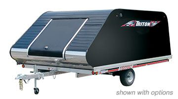 2018 Triton Trailers Elite11-101 With Cover in Evansville, Indiana