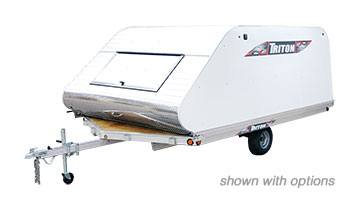 2018 Triton Trailers XT12VR-101 With Cover in Evansville, Indiana