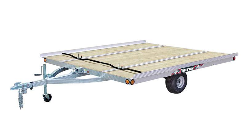 2020 Triton Trailers XT 10-101 QP Tilt in Greensburg, Indiana