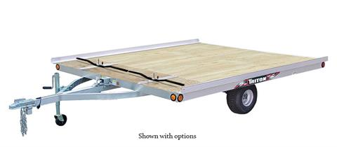2020 Triton Trailers XT 10-101 SQ Tilt in Oak Creek, Wisconsin