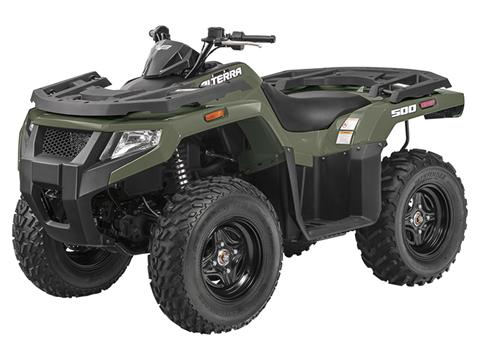 2018 Textron Off Road Alterra 500 in Francis Creek, Wisconsin