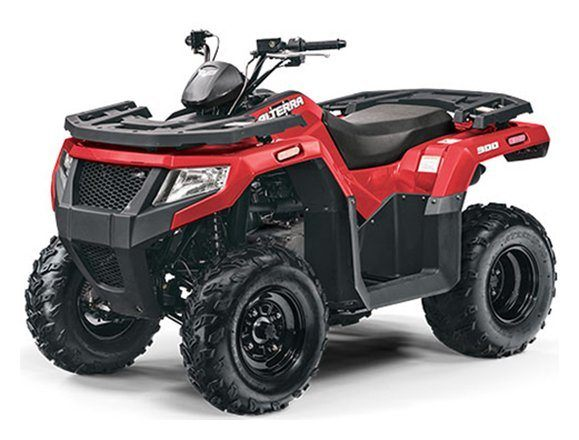 2018 Arctic Cat Alterra 300 in Hamburg, New York