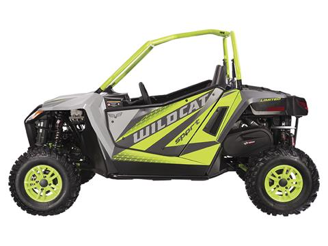 2018 Textron Off Road Wildcat Sport LTD in Goshen, New York