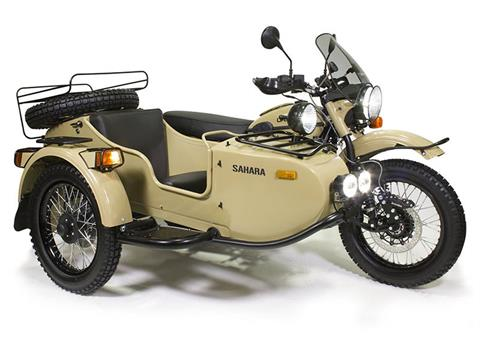 2018 Ural Motorcycles Gear Up Sahara in Newport, Maine