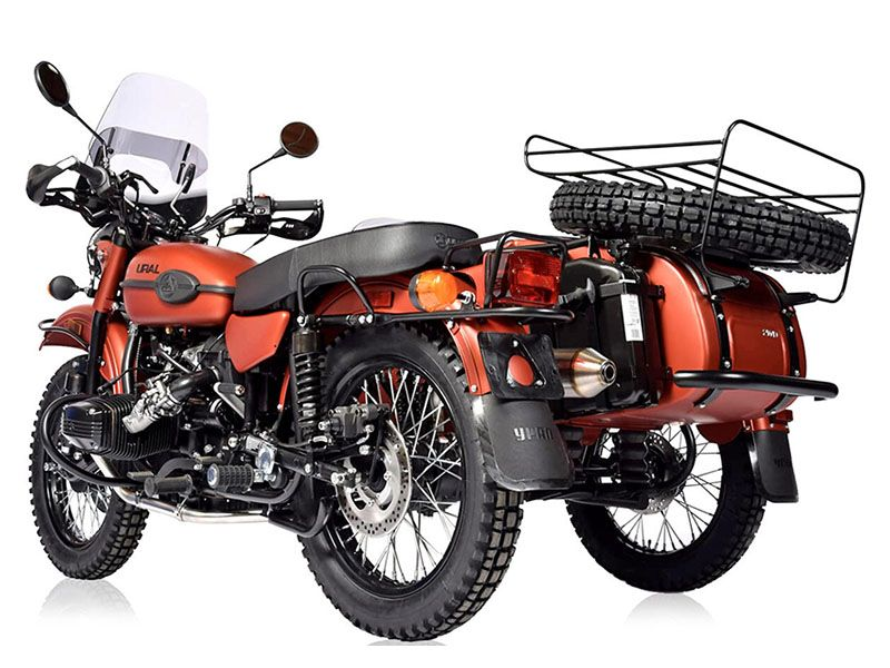 2021 Ural Motorcycles Gear Up with Adventure Package in Ferndale, Washington - Photo 2