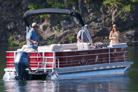 2015 Veranda Fishing V2275-F2 in Mount Pleasant, Texas