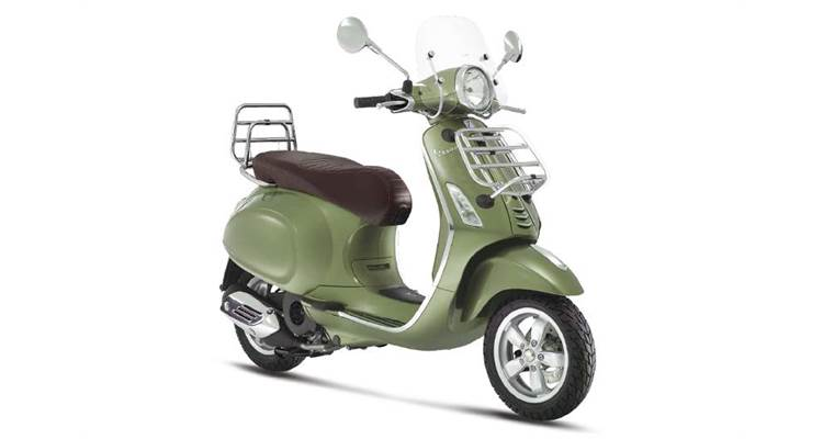 2017 Vespa Primavera 150 Touring in Saint Charles, Illinois
