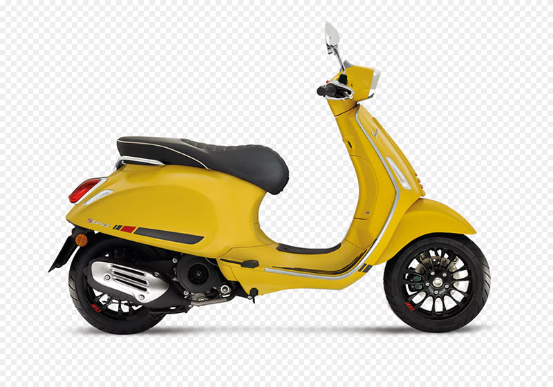 2018 Vespa Sprint S 150 in Columbus, Ohio