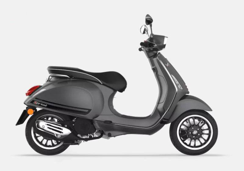 2018 Vespa Sprint S 150 in Saint Charles, Illinois