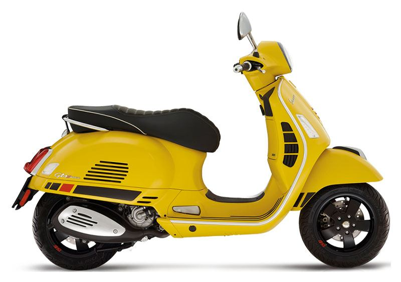 2019 Vespa GTS 300 E4 SUPER SPORT ABS in Columbus, Ohio