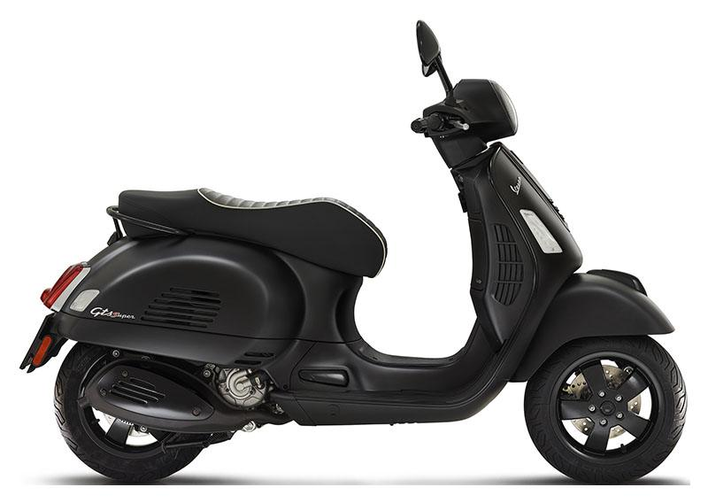 2019 Vespa GTS Super 300 ABS E4 Notte in Shelbyville, Indiana - Photo 1