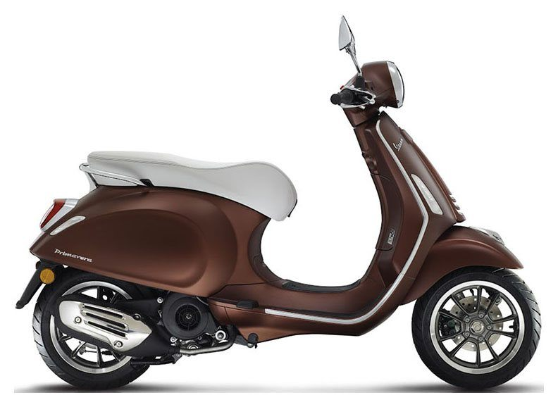 New 2019 Vespa Primavera 50th Anniversary 50 cc Scooters in