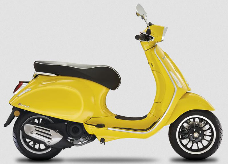2020 Vespa Sprint 50 Limited Speed in New Haven, Connecticut