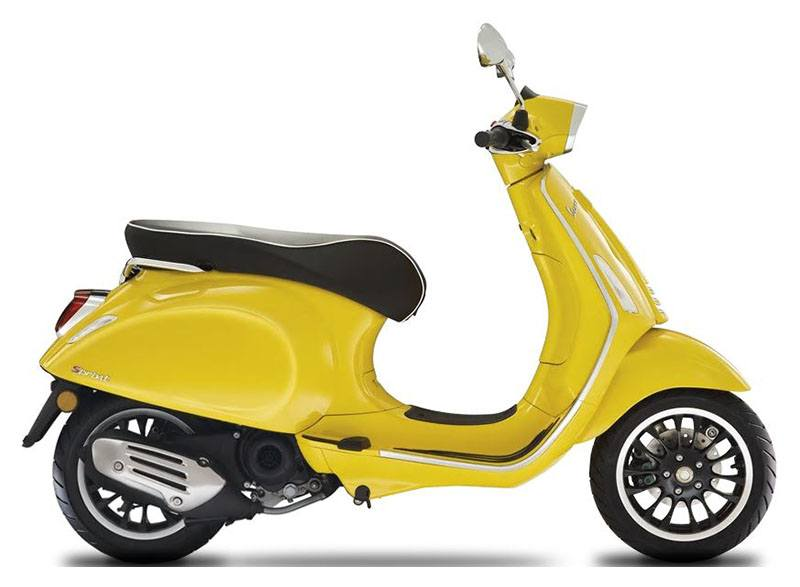 2020 Vespa Sprint 50 Limited Speed in Naples, Florida