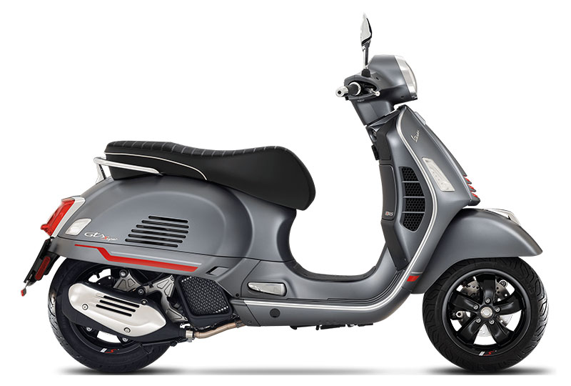 2021 Vespa GTS Supersport 300 HPE in Knoxville, Tennessee
