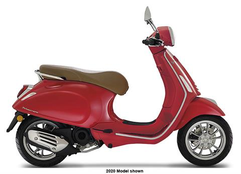 2021 Vespa Primavera 50 iGet Red in Shelbyville, Indiana