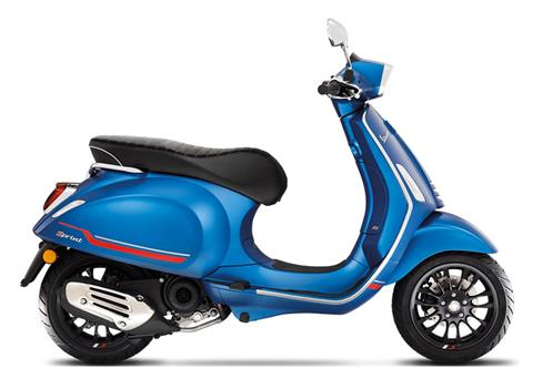 2021 Vespa Sprint 50 Sport in Downers Grove, Illinois