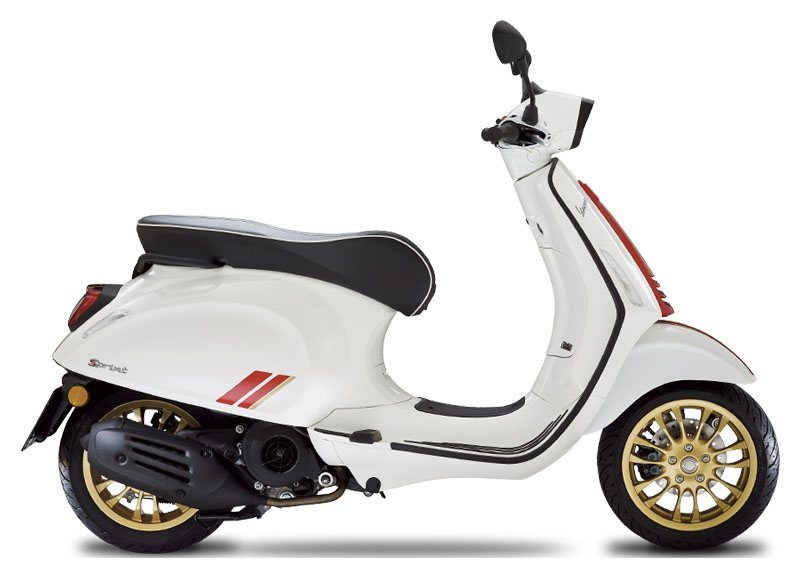 2021 Vespa Sprint Racing Sixties 150 in Shelbyville, Indiana