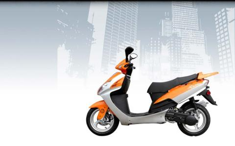 2014 Wolf Brand Scooters Wolf EX-150 in Elkhorn, Wisconsin