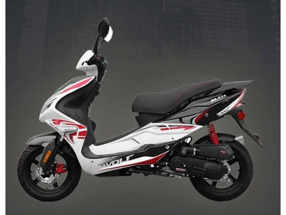 New 2015 Wolf Brand Scooters Wolf Blaze Scooters in New