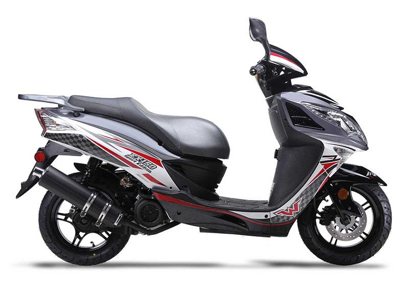 2019 Wolf Brand Scooters Wolf EX-150 in Junction City, Kansas