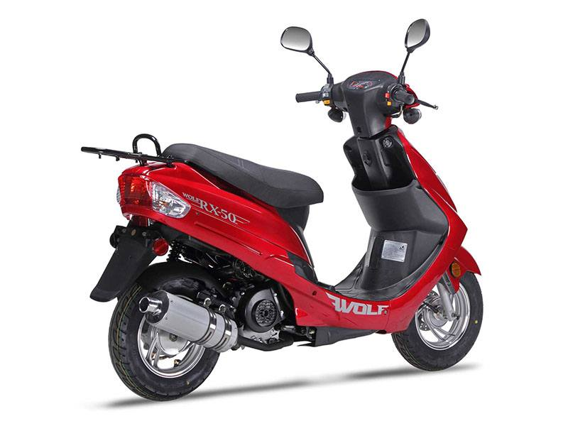 2019 Wolf Brand Scooters Wolf RX-50 in Cocoa, Florida - Photo 4