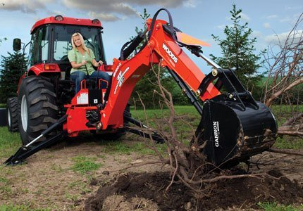 2019 Woods BH90-X Backhoe in Saucier, Mississippi
