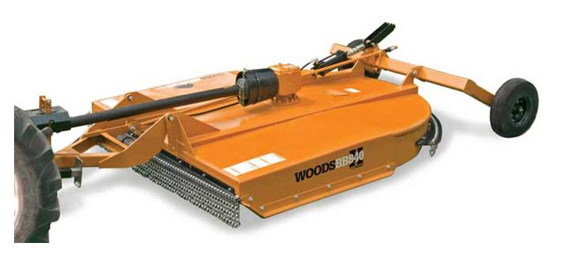 2019 Woods BB840X-P Brushbull Single-spindle Cutter in Warren, Arkansas