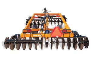 2019 Woods DHM96 Disc Harrow in Hazlehurst, Georgia
