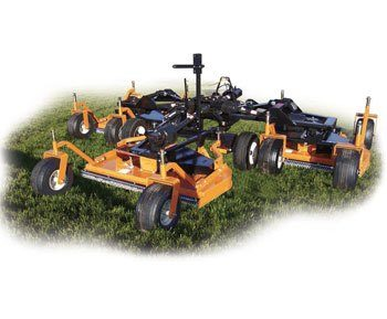2019 Woods TBW204 Turf Batwing Finish Mower in Saucier, Mississippi