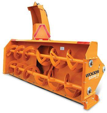 Woods SS108-2 Heavy Duty Snow Blower in Saucier, Mississippi