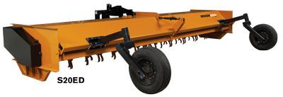 2020 Woods S12ED Flail Shredder in Saucier, Mississippi