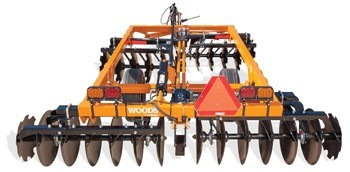 2020 Woods DHH126T Disc Harrow in Saucier, Mississippi
