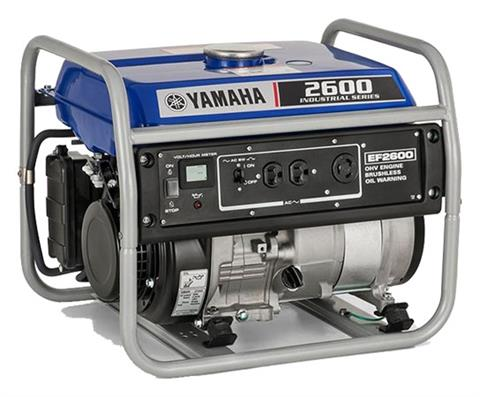 Yamaha EF2600 Generator in Merced, California - Photo 2