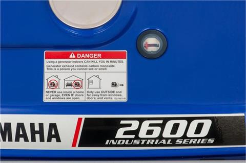 Yamaha EF2600 Generator in Geneva, Ohio - Photo 7