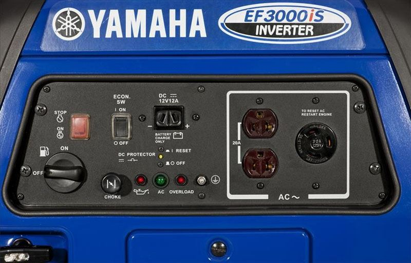 Yamaha EF3000iS Generator in Geneva, Ohio - Photo 4