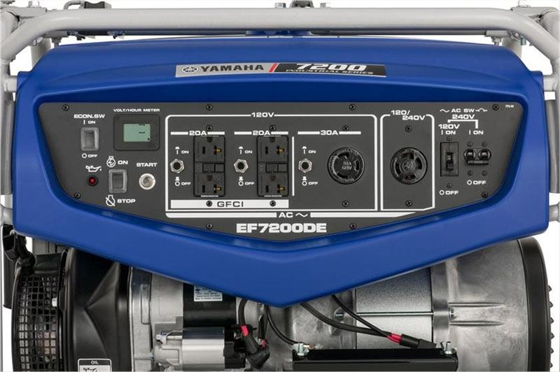 Yamaha EF7200DE Generator in San Jose, California - Photo 7